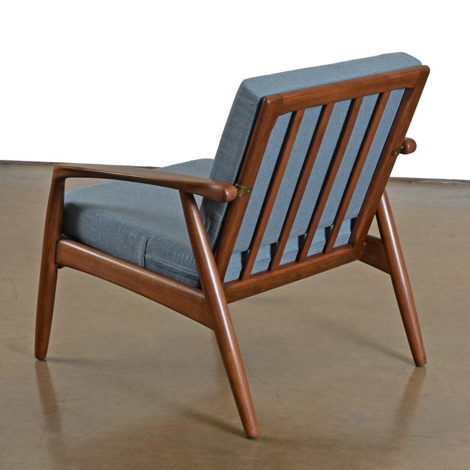 Mid-Century Modern Svend Madsen Beech Wood Lounge Chair2