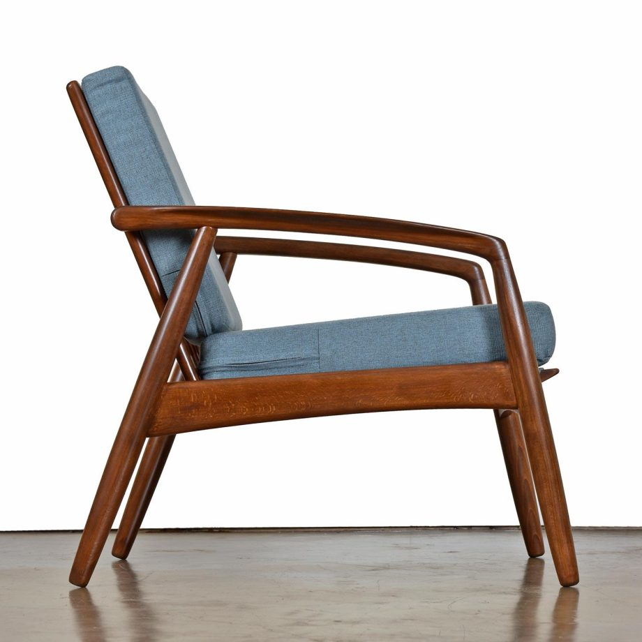 Mid-Century Modern Svend Madsen Beech Wood Lounge Chair4